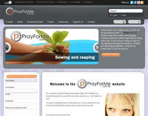 www.prayforme.com.au